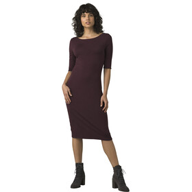 Prana Johan Foundation Vestido Mujer, raisin heather